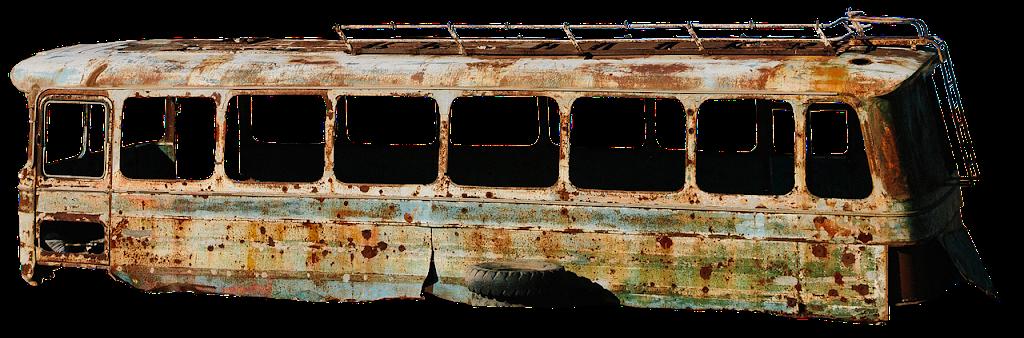 El colectivo abandonado